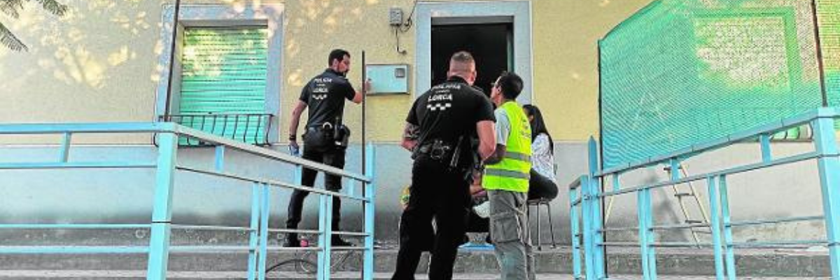Desalojo de una ocupación ilegal