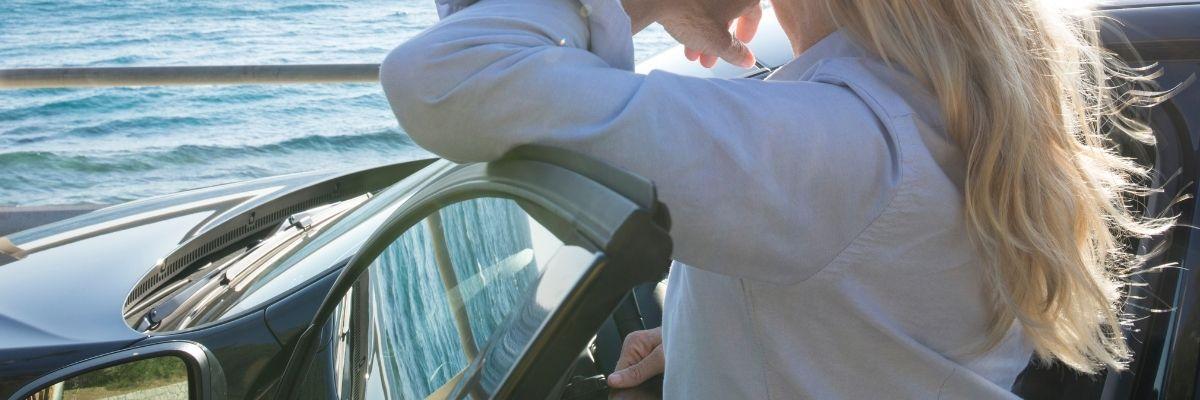 Cuidados del coche cerca del mar