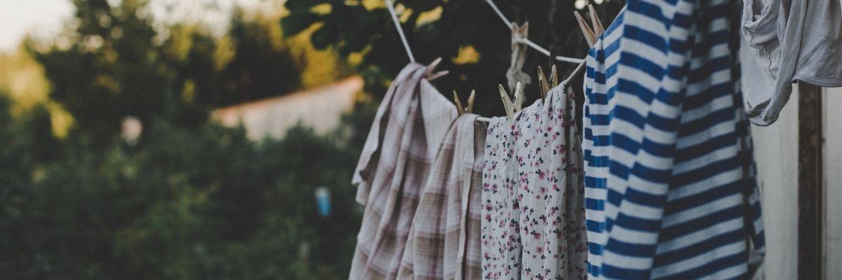 ropa tendida en elementos comunes uso privado