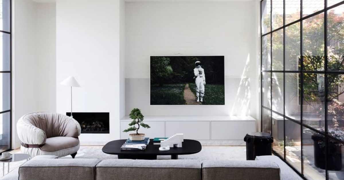 Ideas para decorar la pared de la televisión