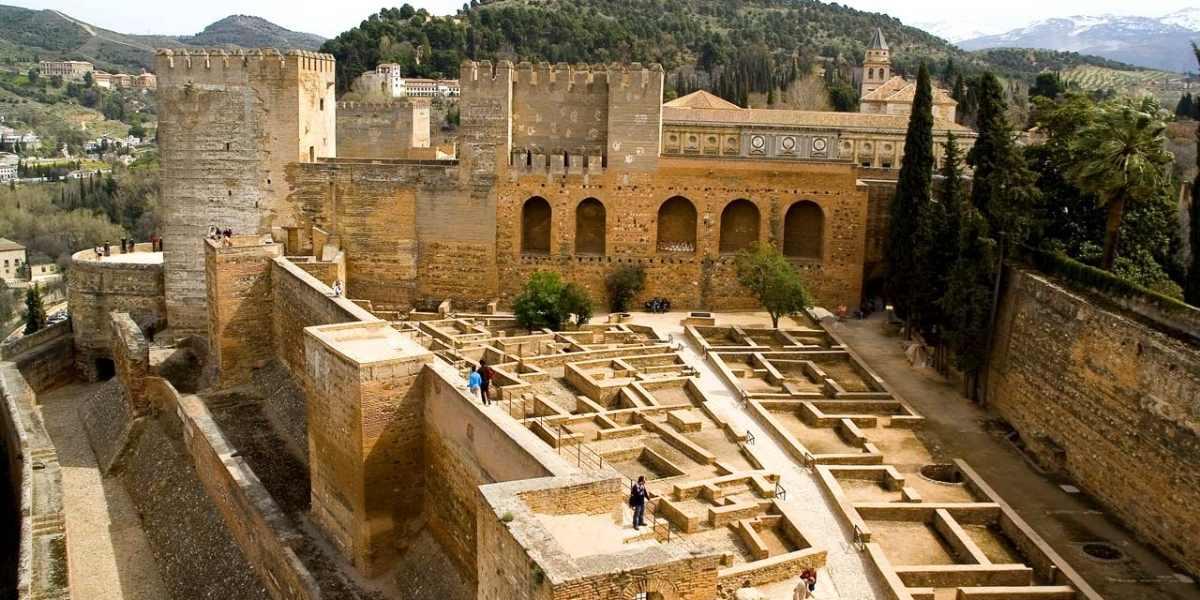 Alcazaba. Alhambra de Granada