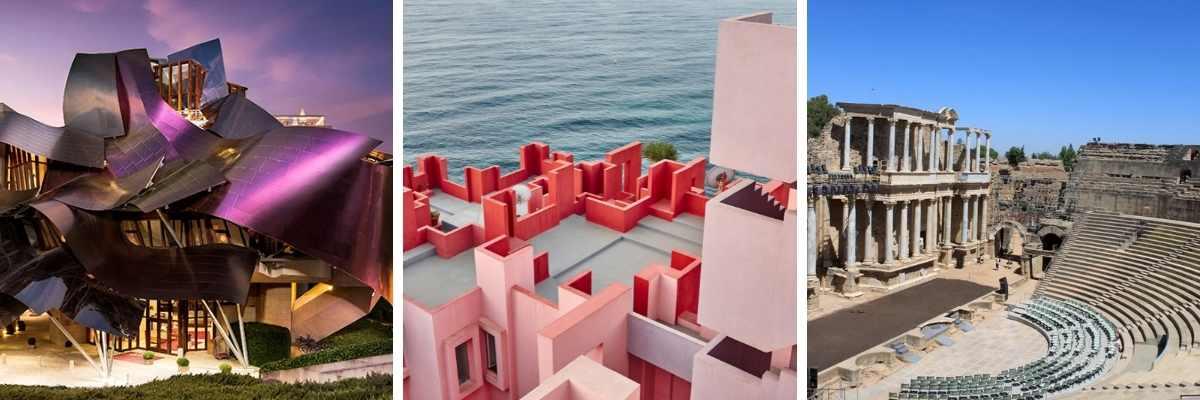 Los edificios más emblemáticos de España