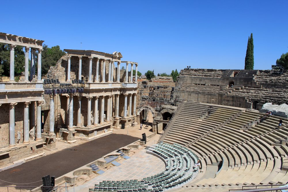 Teatro romano. Mérida