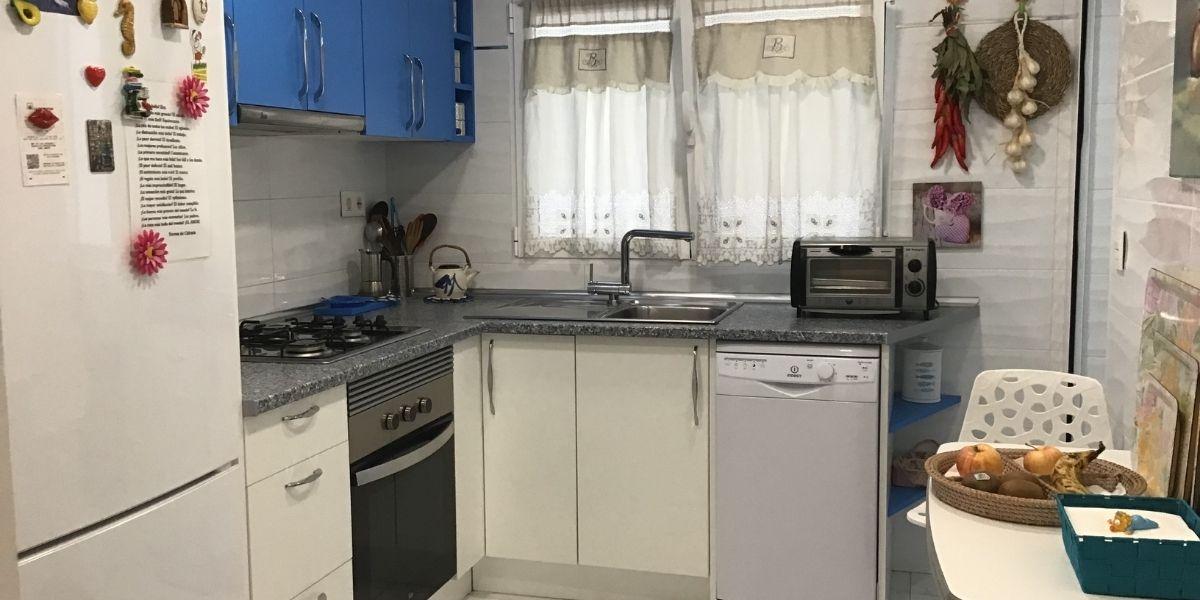 cocina piso en venta en el Pla del Bon Repós
